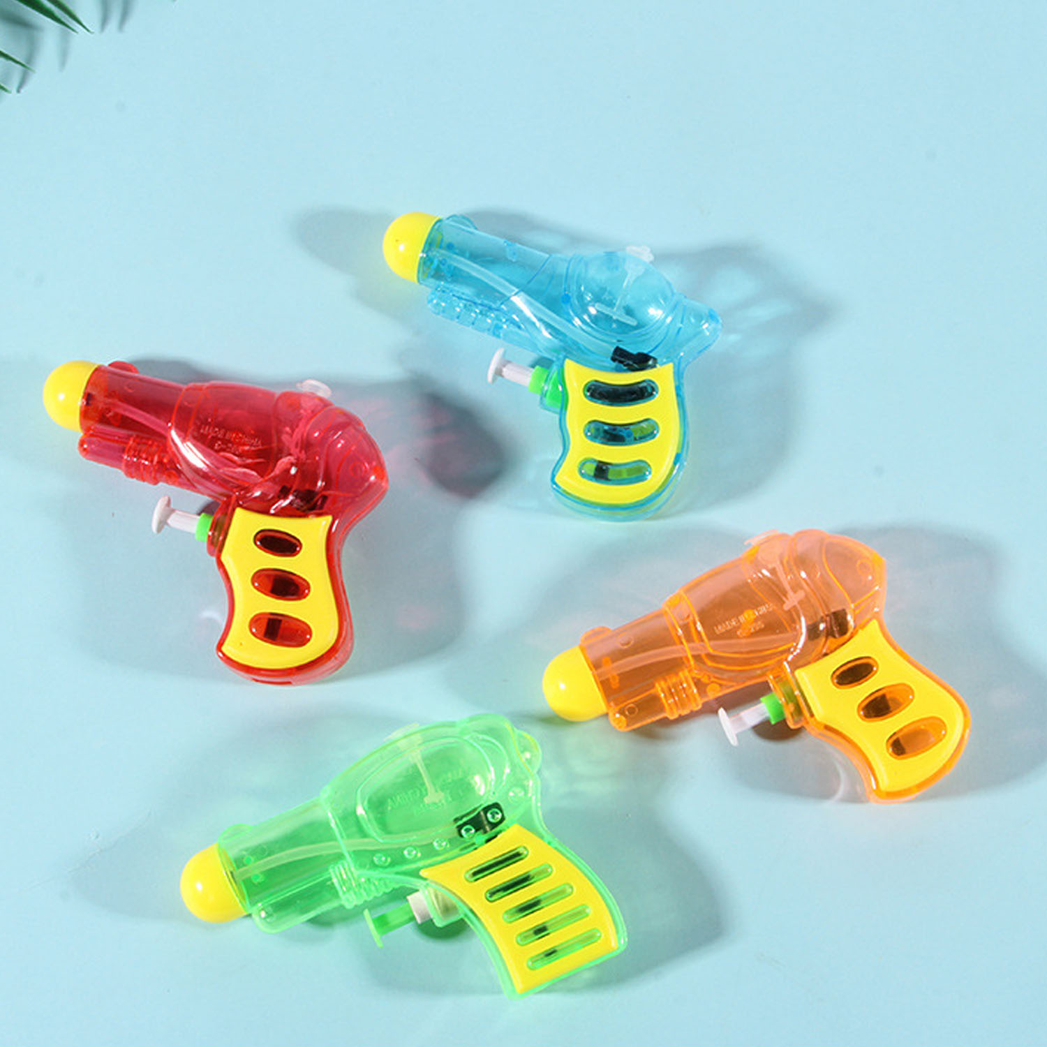 12PCS Mini Funny Plastic Water Squirt Gun Pistol Toys for Kids Children Beach Swimming Summer Outdoor Pool Bath Party By Random