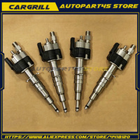 Set 4 Fuel Injector 13537589048 13537585261 09 For BMW 135i 335i 535i 550i 650i 740i 750i X5