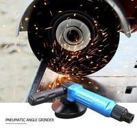 4 Inch Pneumatic Angle Grinder Industrial Polishing Air Angle Sander Buffer for Machine Polished Cutting Operation