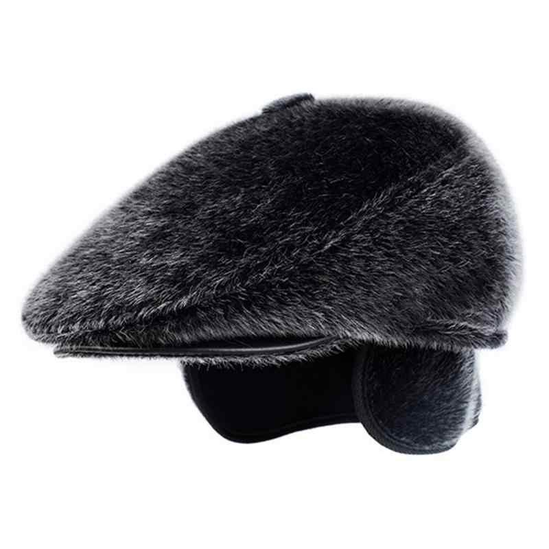 5246ec51c79 ... Autumn Winter Newsboy Caps Men And Women Warm Tweed Octagonal Hat For Male  Detective Hats Retro ...