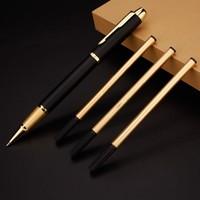 Luxury Metal Pen Golden Clip Ballpoint Pen Set Writing Business High Gift Office School Supplies Stationery Signature Pen 03667