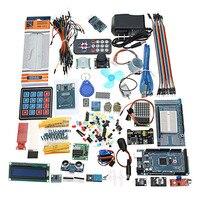 Ultimates Starter Kit including Ultrasonic Sensor UNO LCD1602 Screen for Arduino Mega2560 for UNO for Nano with Plastic Box