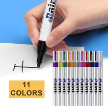 цена на High Quality 11Colors Paint Pens Oil-based Paint Marker Long Lasting Fast Drying For Marking Painting Graffiti