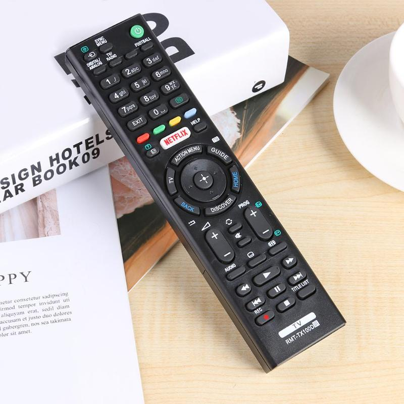 Controlador remoto para Substituição Sony Smart TV RMT-TX100D RMT-TX101J TX102U TX102D