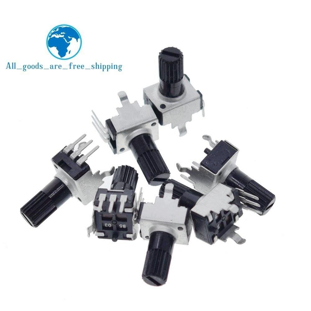 Вертикальный 12,5 мм вал Rv09, 1k, 2k, 5k, 10k, 20k, 50k, 100k, 0932, регулируемый резистор 9 типа, 3-контактный уплотнительный потенциометр, 10 шт.