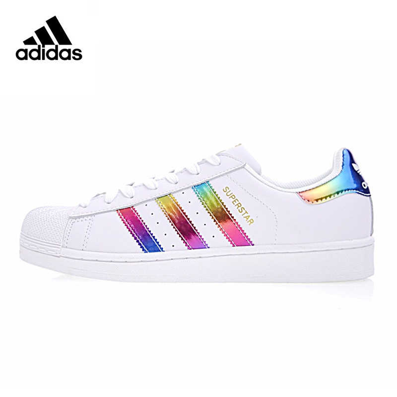 3f9ae6178730 Adidas Superstar Gold Label Original Women Skateboarding Shoes Non-Slip  Lightweight Breathable Sneakers  BB2146