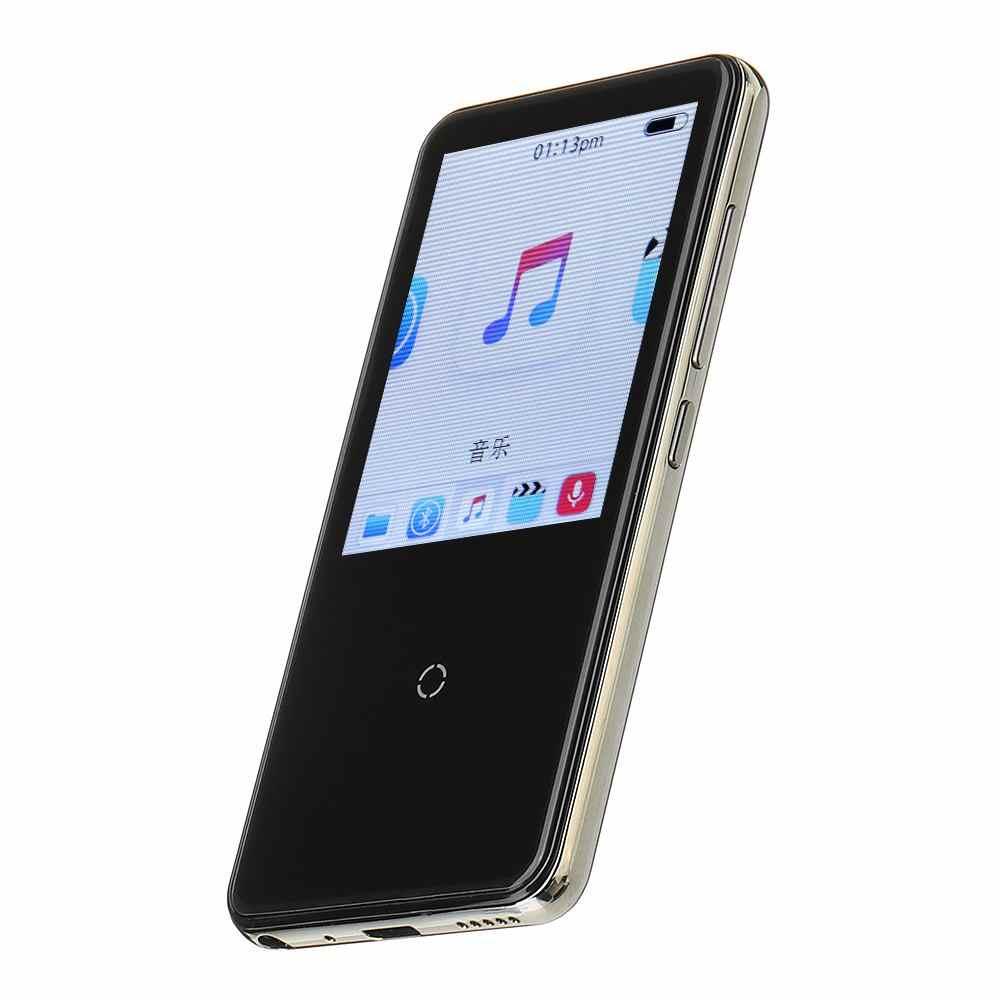 Mahdi M600 2.4 Cal ekran bluetooth bezstratny odtwarzacz MP3 HIFI wsparcie A-B powtórzyć nagrywania głosu