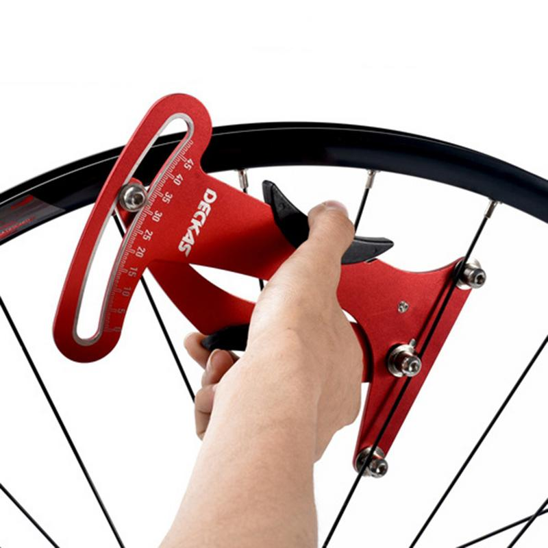 Велосипед говорил тензометр натяжение проволоки колеса комплект обод колеса коррекции тензометр Регулировка Инструмент