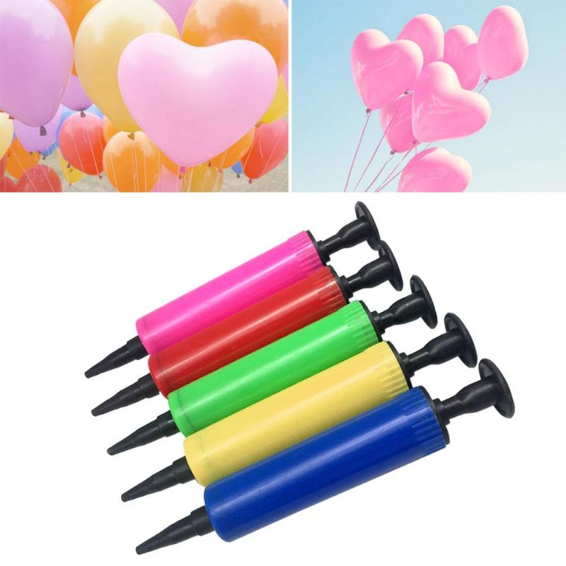 New Mini Inflator for Party Hand Held Action Ballon Tool Balloon Pump Random