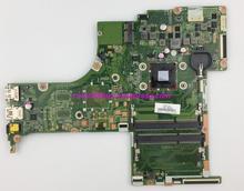 אמיתי 809398 601 809398 501 809398 001 w A6 6310 מעבד DA0X22MB6D0 האם Mainboard עבור HP 17 G סדרה 17Z G000 נייד