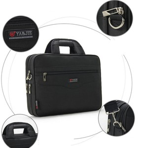 Image 5 - Business Mens Briefcase Large Capacity For Mens Handbags Totes 14.1 Inch Laptop Bags Black Official site Travel Crossbody Bag