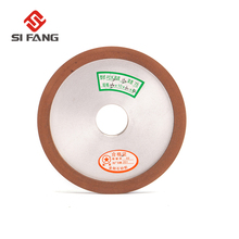 150mm Diamond Grinding Wheel Sharpener Grinder Resin Bonded Disc 150/240/320/400 Grit for Cutter Tool Carbide Metal 75% 400 grit resin bond bowl shape diamond grinder grinding wheel tool