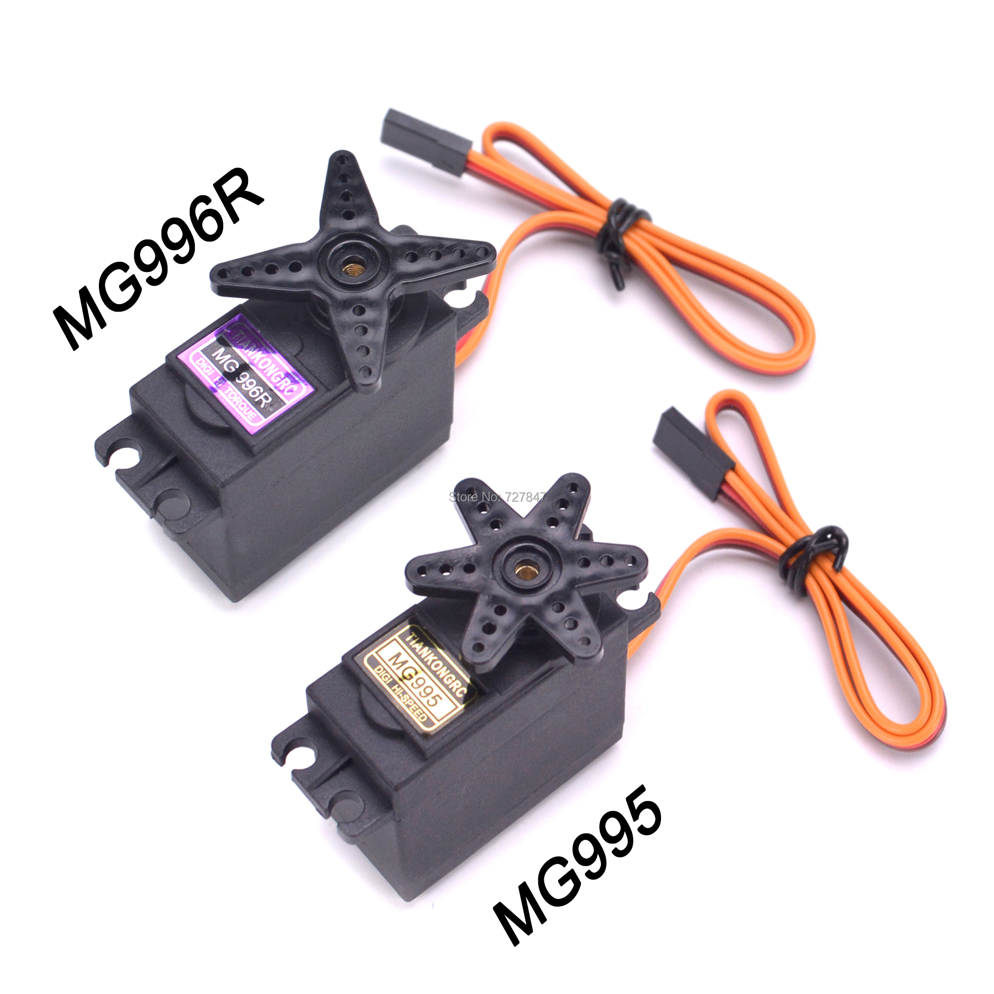 NEW MG995 / MG996R MG996 Metal Gear RC Servo 13KG High Speed for Racing Car truch Parts JR Car RC Model Helicopter Boat