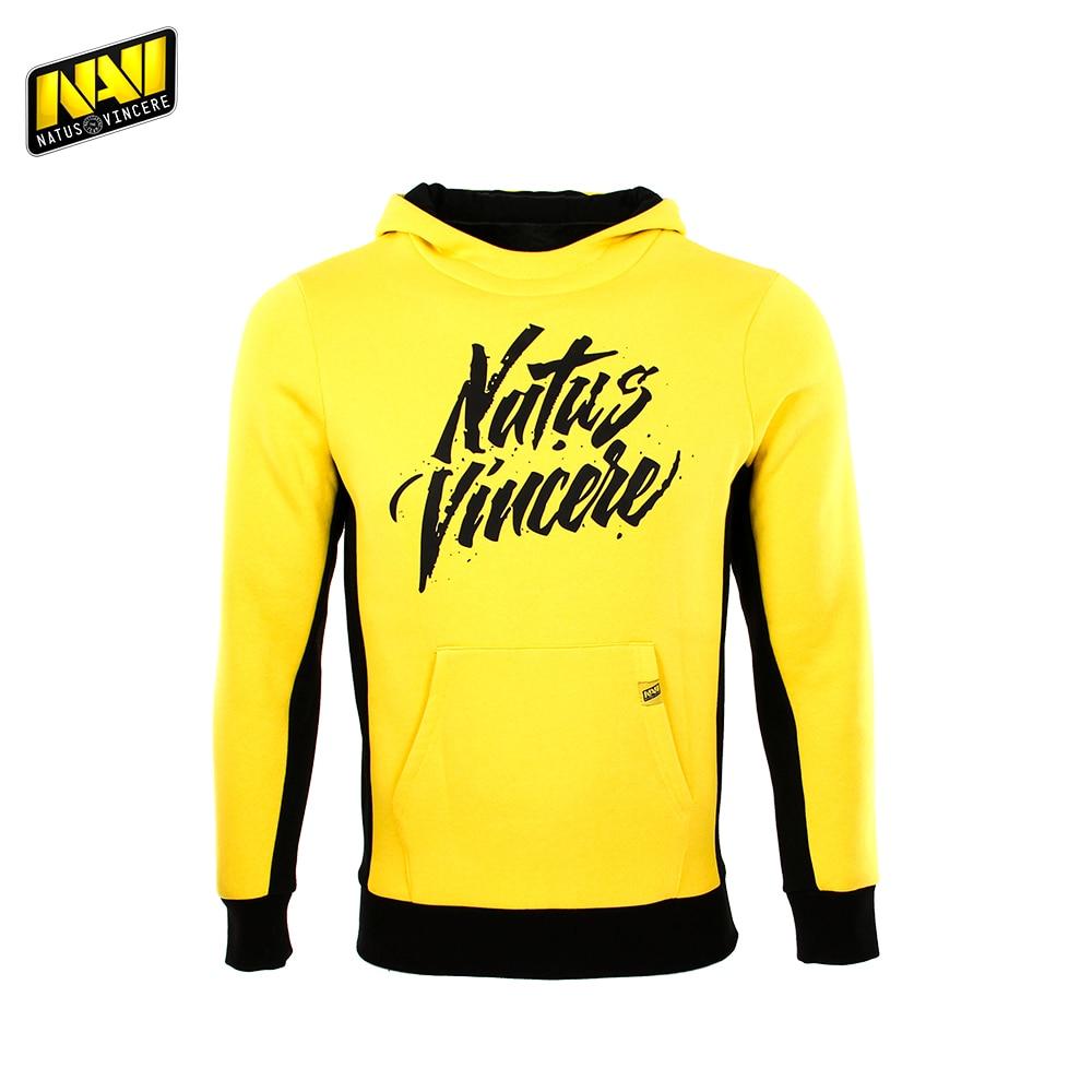 Hoodies & Sweatshirts NATUS VINCERE FNVNVHOOD17YL0000 Hoodie mens sweater men hip-hop Cotton NAVI CS:GO Dota 2 simple esports
