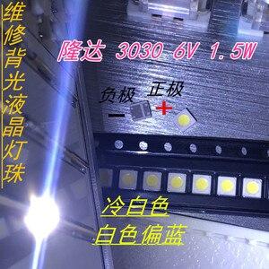 Image 3 - 1000 Chiếc Lextar Tốt Cao Cấp Đèn Nền LED 1.8 W 3030 6 V Trắng Mát 150 187LM PT30W45 V1 Ứng Dụng Truyền Hình 3030 LEXTAR