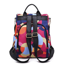 Fashion Anti-theft Women Backpacks Famous Brand Ladies Large Capacity Backpack High Quality Waterproof Oxford Women Backpacks