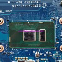 mainboard האם מחשב נייד FRU מקורית: 5B20K57320 BIWB6 / B7 / E7 / E8 LA-D101P w Mainboard האם מחשב נייד מעבד SR2EY I5-6200U עבור מחשב נייד Lenovo B51-80 (4)