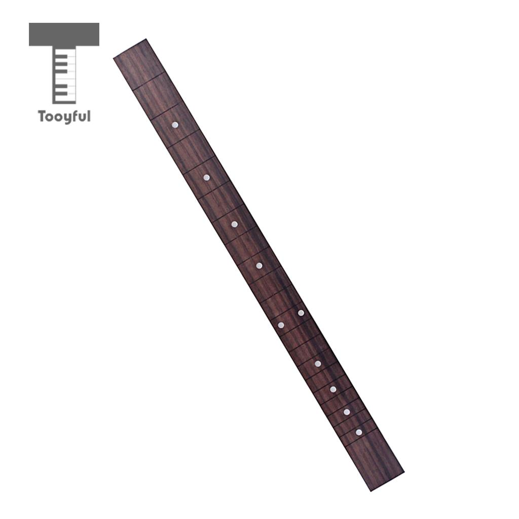 Guitar Parts & Accessories Sports & Entertainment Generous Tooyful Rosewood Fingerboard Fretboard For Cigar Box Guitar Length 510mm