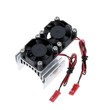 цена на 540/550 Double Heat Sink Engine Cooling Fan For 1/10 Remote control car