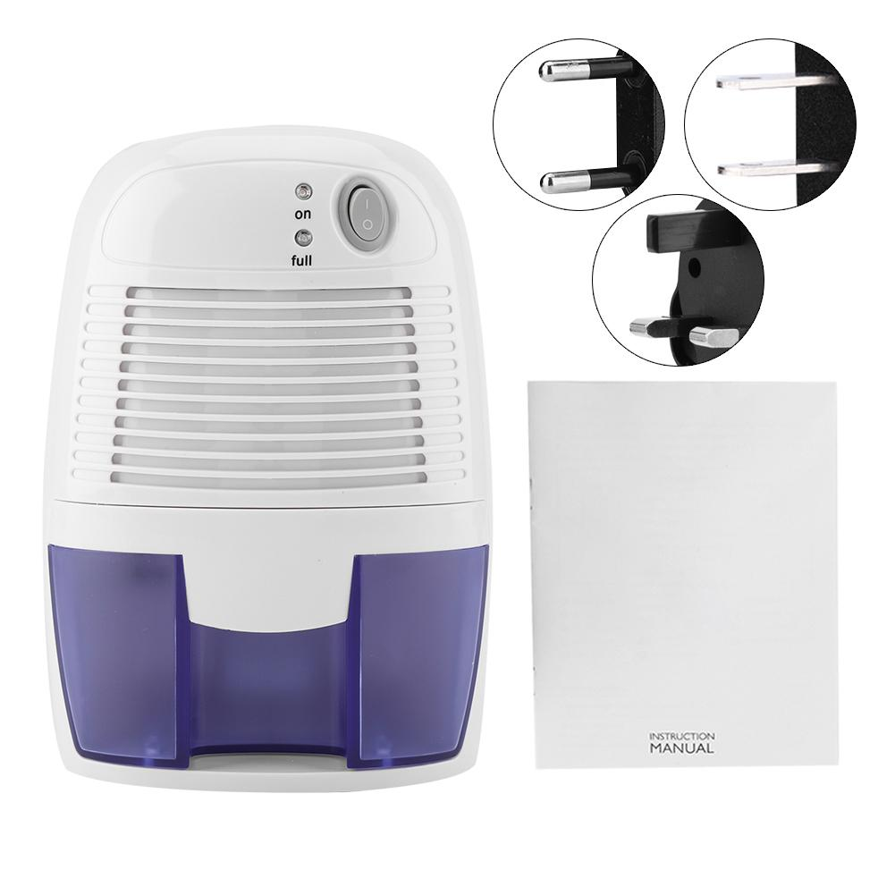 110-240V Mini Dehumidifier For Home Portable 500ML Moisture Absorbing Air Dryer With Auto-off And LED Indicator Air Dehumidifier