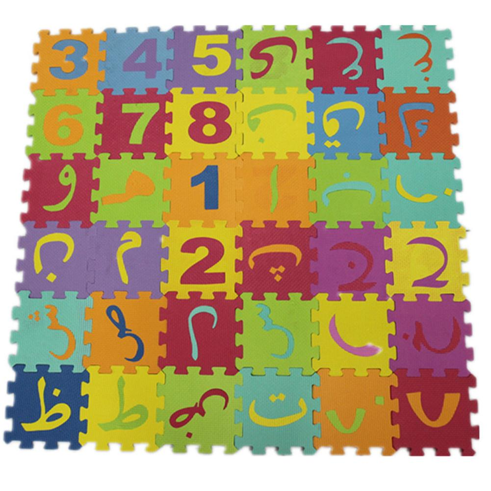 Thickened Children Ground Mat Tatami Floor Pad Creeping Sponge Pad For Kids And Babies Jigsaw Puzzle With Arabic Number Pattern