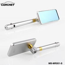 CARCHET Motorcycle Handlebar Rear View Side Mirror Rearview Mirrors Universal for Honda Kawasaki Yamaha Suzuki Scooter KTM