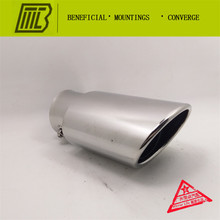 refitting Car Exhaust  straight Muffler Universal Modified Tail Throat Liner Pipe Caliber 6. is17cm