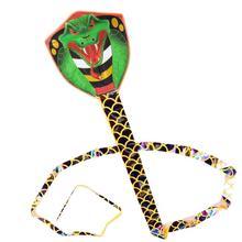 7 м змея воздушный змей Летающий разрывная нейлоновая ткань наружные игрушки летающая змея легко открывающиеся Детские воздушные змеи для взрослых Детский подарок