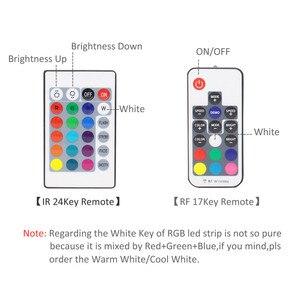 Image 3 - LED Strip Battery Powered 5050 RGB 2835 Warm Cool White 1M 2M 3M 4M 5M 5V 6V Battery Operated LED Tape Ribbon Lights Waterproof