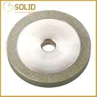 Diamant Slijpschijf 78x12.7x10mm Platte Vorm Schurende Grinder Tool voor Carbide Frees Power Tool 3Inch 150Grit