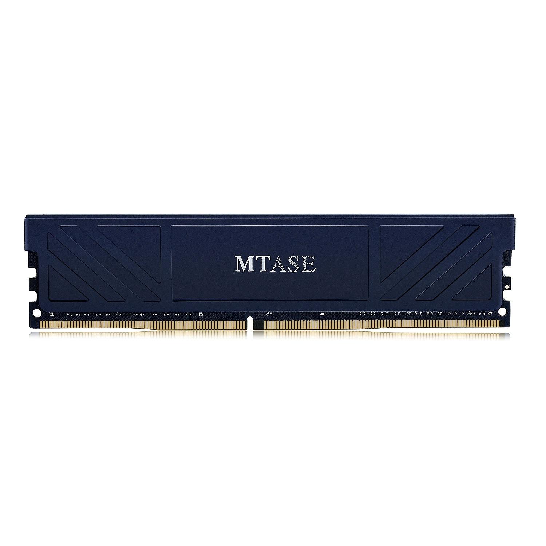 Mémoire Ram Mtase Ddr4 8G 2400 Mhz 1.2 V 288Pin avec dissipateur de chaleur pour bureau