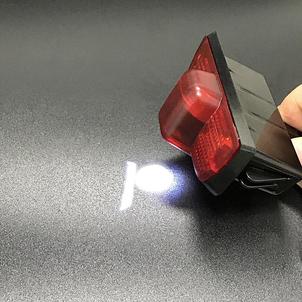 2pcs 4pcs Para AMG Logotipo Do Carro Luz Sombra Porta Passo LEVOU Bem-vindo Emblema Para Mercedes Benz Classe C w204 230 C280 Projetor Laser 12V
