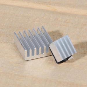 Image 5 - VODOOL 30Pcs דבק פטל Pi 3 צלעות קירור למעבד טהור אלומיניום חום כיור סט ערכת רדיאטור 2 Pi קירור פטל עמיד
