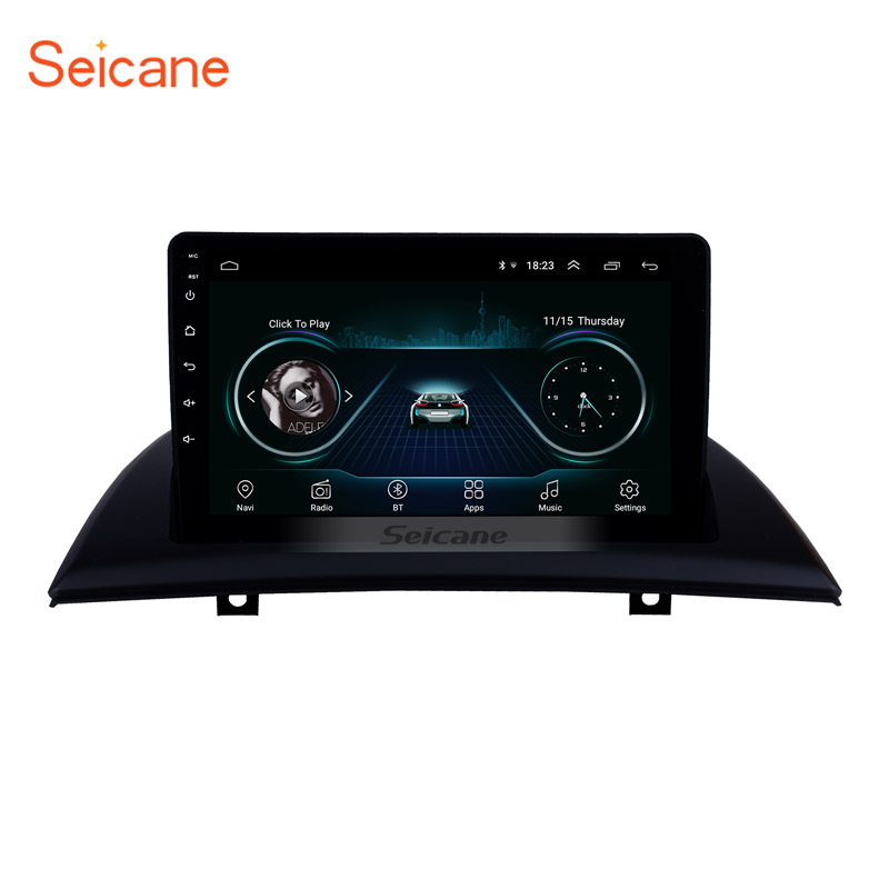 Seicane Android 8.1 2din Car GPS navi Head Unit Player for 2004 2005 2006-2012 BMW X3 E83 2.0i 2.5i 2.5si 3.0i 3.0si 2.0d 3.0d