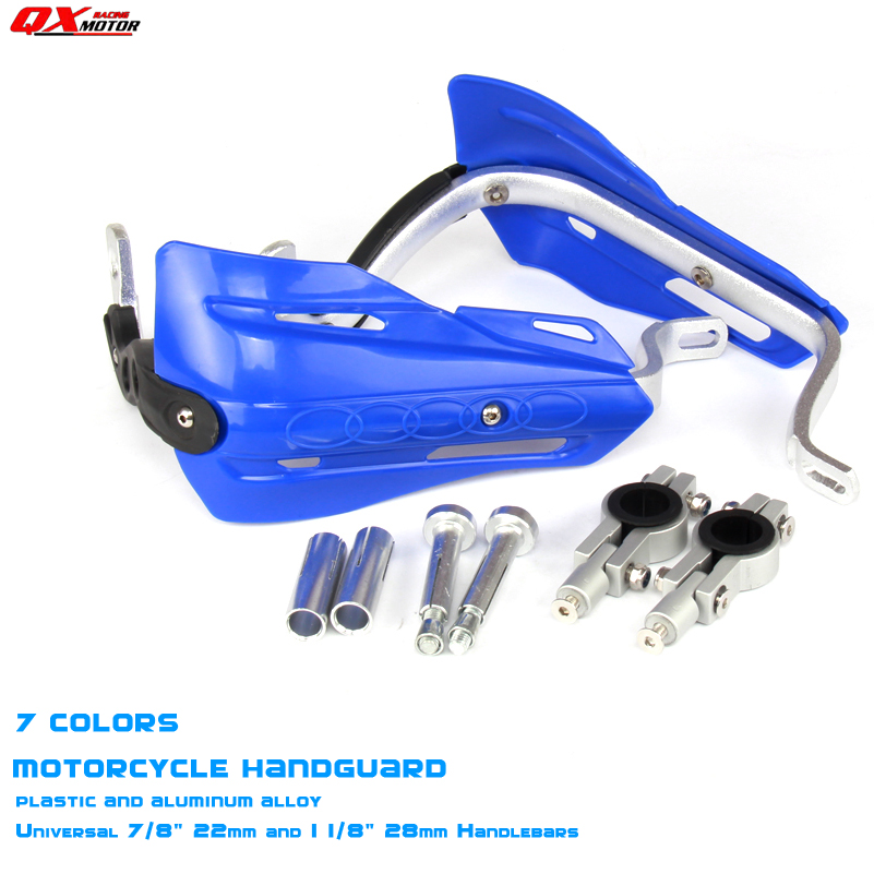 Motorcycle Hand Guards ATV Handguards For KTM SX EXC CRF YZ F KX F Motorcross Universal 7/8 22mm Or 1-1/8 28mm HandlebarsMotorcycle Hand Guards ATV Handguards For KTM SX EXC CRF YZ F KX F Motorcross Universal 7/8 22mm Or 1-1/8 28mm Handlebars