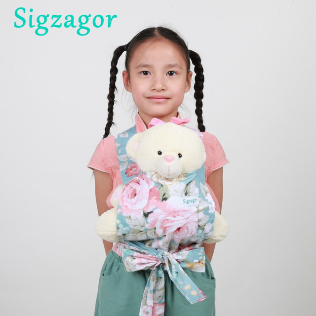 336eea8f849  Sigzagor  50 Baby Doll Carriers Mei Tai Sling Toy For Kids Children Toddler  Cotton