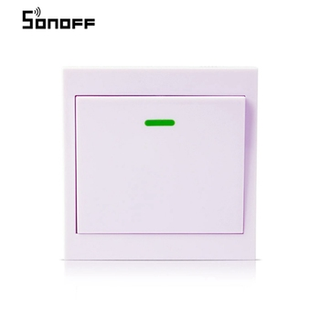SONOFF-RF-de-433-MHz-inal-mbrico-interruptor-86-Panel-de-pared-transmisor-con-1-bot