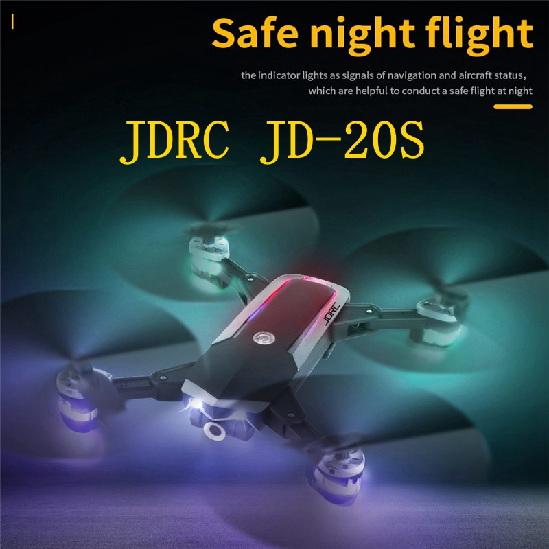 JDRC JD-20S PRO WiFi FPV w/ 5MP 1080P HD Camera 18mins Flight Time Foldable RC Drone Quadcopter RTF image