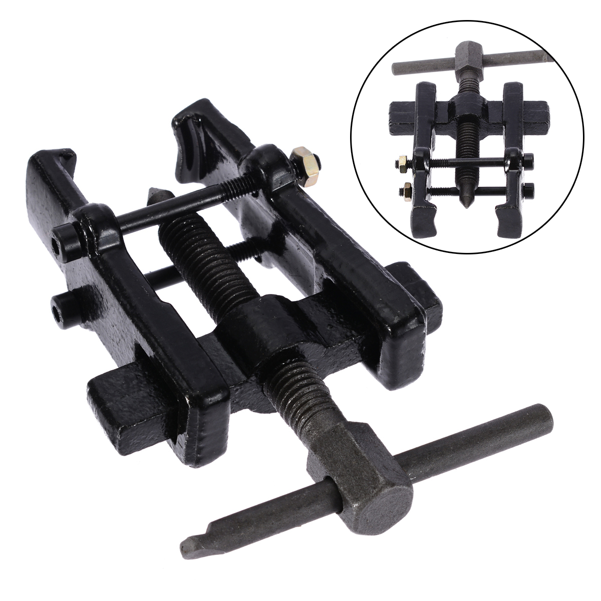 Practical New Two Jaw Gear Pulley Bearing Puller 2 4 6 Small Leg Large Mechanics Black Repairing Car Tools Kits Hand Tool Sets Power Tool Accessories Back To Search Resultstools