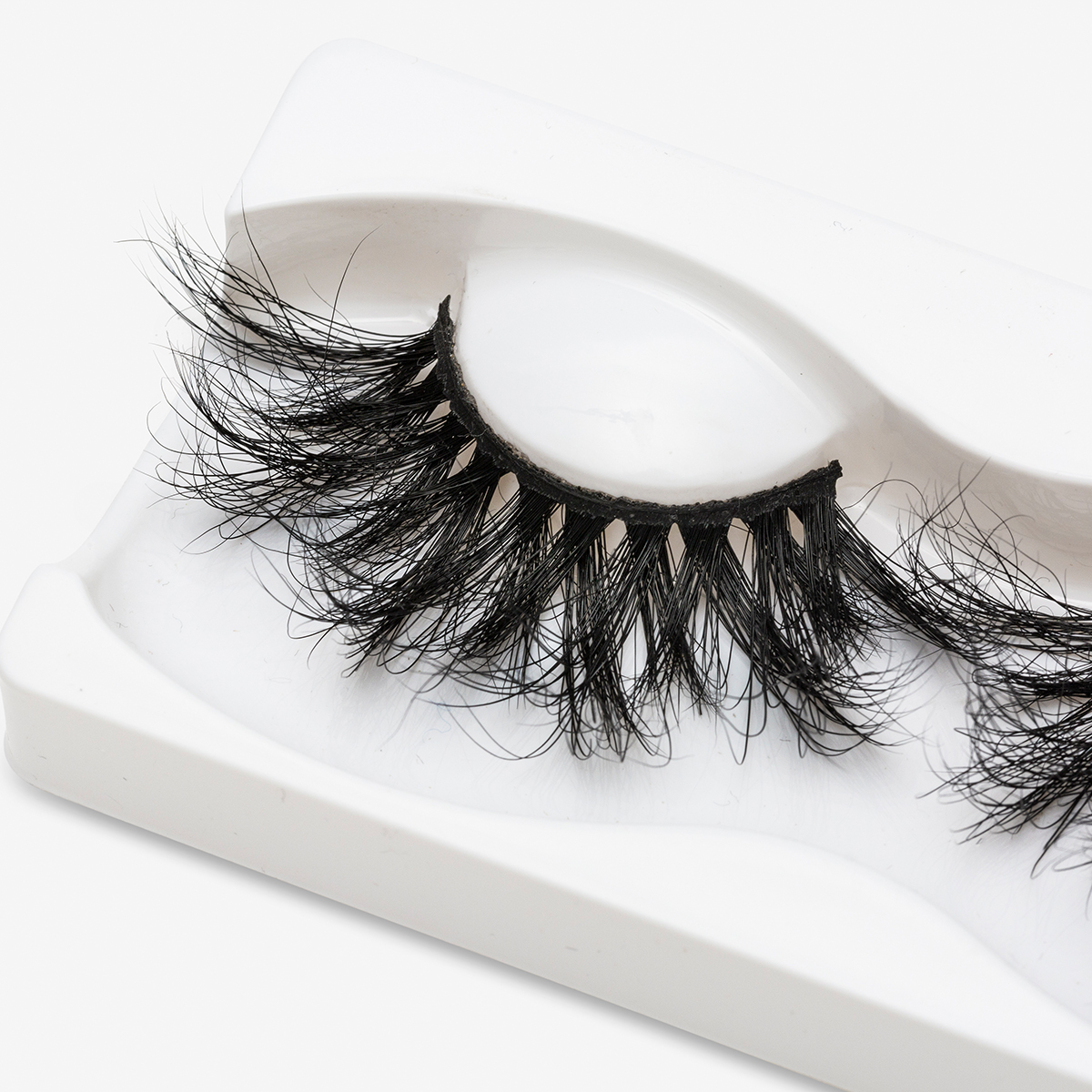 Image 4 - SEXYSHEEP 25mm 5D Mink Eyelashes 100% Cruelty free Lashes Handmade Reusable Natural Eyelashes Popular False Lashes Makeup-in False Eyelashes from Beauty & Health