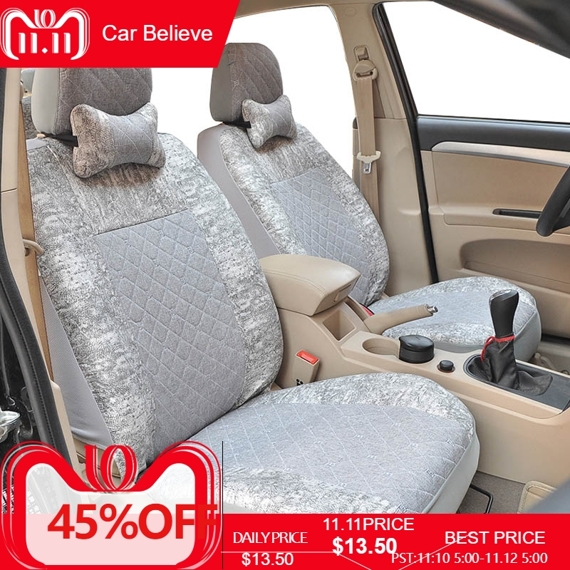 купить Car Believe car seat cover For nissan qashqai j10 almera n16 note x-trail t31 patrol y61 juke leaf teana cover for vehicle seats по цене 6092.58 рублей