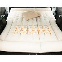 160X132cm SUV Trunk Inflatable Car Mattress Flocking Portable Padded Inflatable Cushion Sexy Car Travel Bed Car Bed