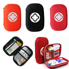 цена на 2019 Hot First Aid Kit Bag Emergency Medical Survival Treatment Rescue Empty Box Eyeful Travel Storage Bag Outdoor First Aid Kit