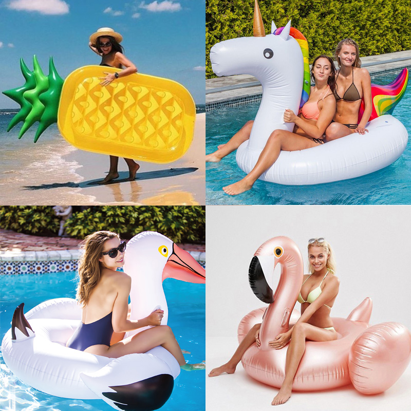 Giant Inflatable Unicorn Pool Float 1
