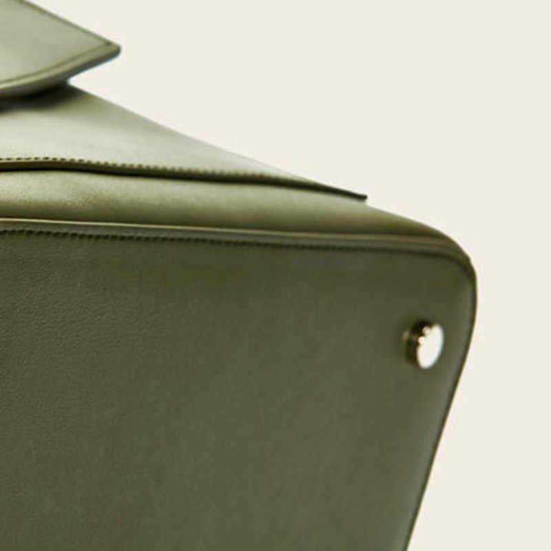 Xiaomi CARRY O минимализм популярный однотонный кожаный рюкзак модный и Молодежный стиль сумка без рук