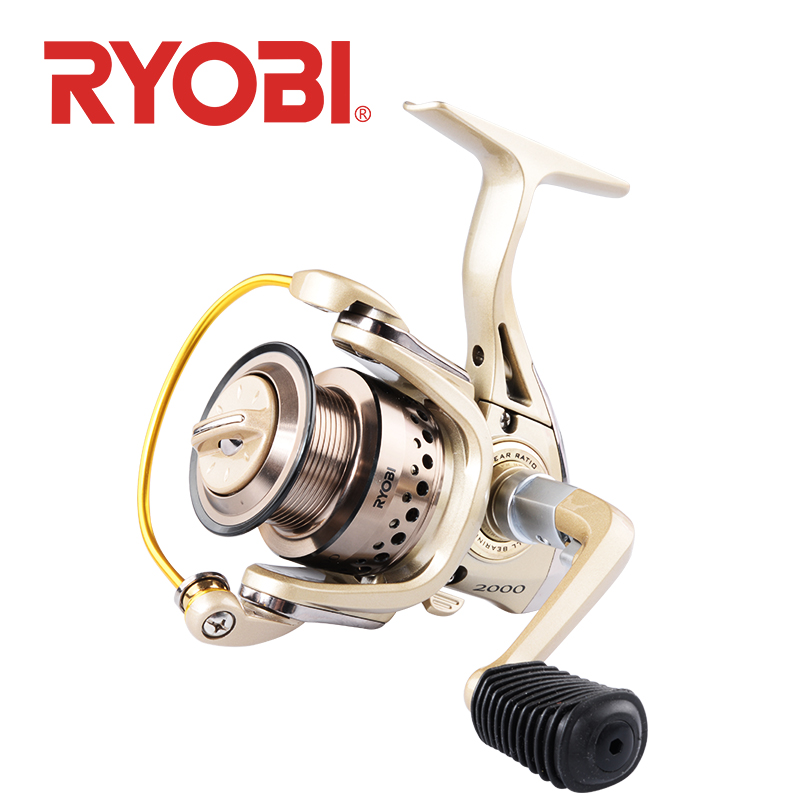 <font><b>RYOBI</b></font> CONDOR Fishing reel Spinning Wheel <font><b>1000</b></font> 2000 3000 4000 moulinet Gear Ratio 5.1:1/5.0:1 drag power 2.5-5.0kg 5+1BB Reel image