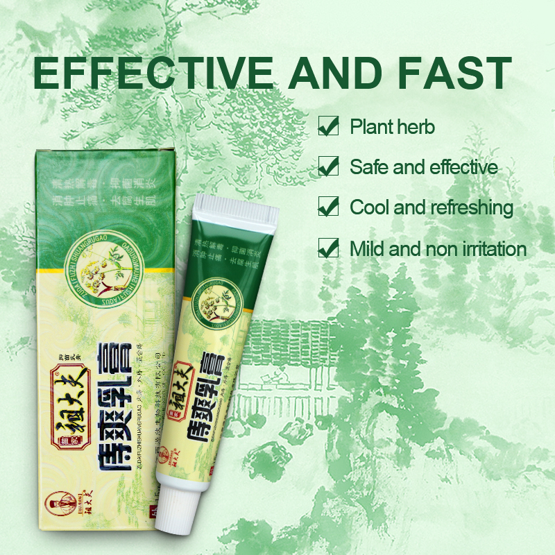 10 PCS Zudaifu Ointment Powerful Hemorrhoids Cream Internal Hemorrhoids Musk Anus Prolapse Anal Fissure Bowel Bleeding Cream 15g