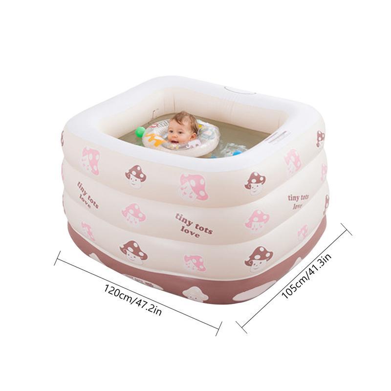 Meilleur Intérieur Extérieur Eau Jouer piscine gonflable piscine pour bébé Portable Enfants Bassin Baignoire ballon pour enfants Piscine Bébé De Natation - 2