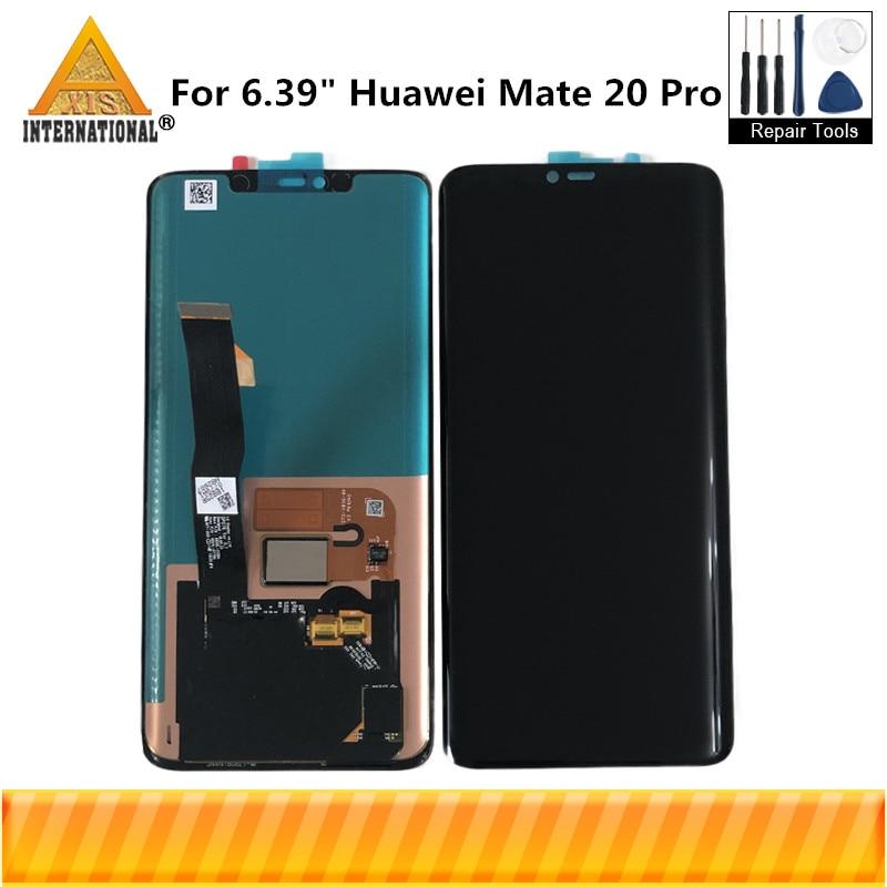 Original Axisinternational For 6.39 Huawei Mate 20 Pro AMOLED LCD Screen Display+Fingerprint+Touch Digitizer For Mate 20 ProOriginal Axisinternational For 6.39 Huawei Mate 20 Pro AMOLED LCD Screen Display+Fingerprint+Touch Digitizer For Mate 20 Pro