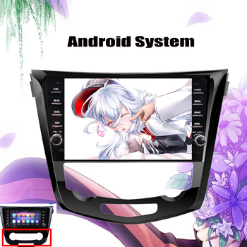 9 inch Android 10.0 Car Radio Stereo GPS Navi For 2013 2014 2015 2016 2017 18 Nissan QashQai X-Trail Multimedia Player Head Unit image